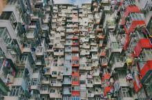 """香港网红拍照圣地-鲗鱼涌""""怪兽大厦"""""""
