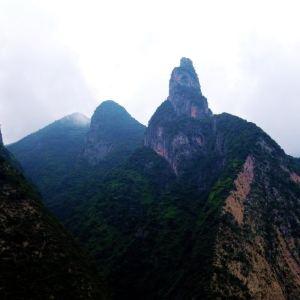 神女峰旅游景点攻略图