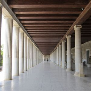 雅典古市集博物馆旅游景点攻略图