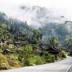 台江游记图文-台江红阳苗寨,被誉为中国少数民族特色村寨,全国第一批绿色村庄