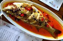 吃在大连-开发区很火爆的馆子,金牌臭鲈鱼,真是每桌一条的标配~