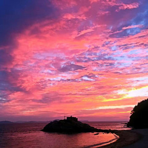 长海游记图文-哈仙岛上的慢时光——端午节的哈仙岛