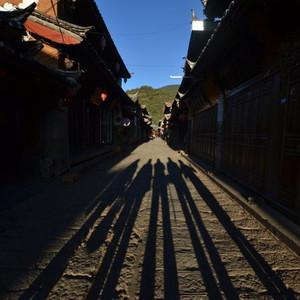 束河古镇游记图文-如果可以重来,我还会再次爱上束河的静,玉龙的雪!