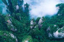 云雾缭绕的武陵源和烟雨朦胧的凤凰,一个是白月光,一个是朱砂痣