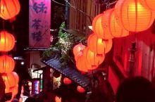 台湾九份,千与千寻的取景地,来到挂满红灯笼的小酒馆