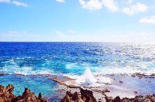 天宁岛的喷洞