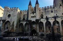 阿维尼翁老城、教皇宫、圣贝内泽断桥