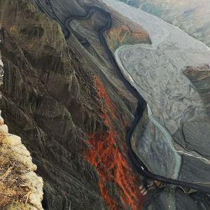 奎屯河大峡谷旅游景点攻略图