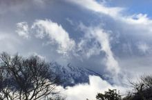 犹如仙境一般的富士山,似棉花糖的柔和,好想躺在云层中间!