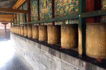 五台山塔院寺的转经轮