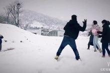等你们来一起打雪仗!堆雪人,亚布力等你呦