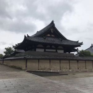 法隆寺旅游景点攻略图