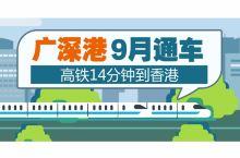 广深港高铁9月通车,去香港最便宜只要67元!