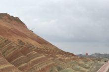 非常美丽的地质公园,天然形成的七彩颜色美的天然rangre