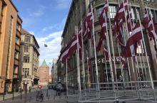 为祖国庆生拉脱维亚里加老城游拍