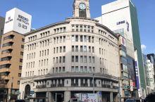 东京银座商业区