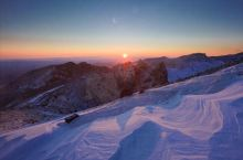 长白山天池看日出
