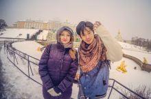 和俄罗斯美少女的圣彼得堡一日游!