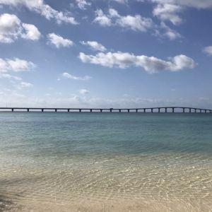 与那霸前滨海滩旅游景点攻略图