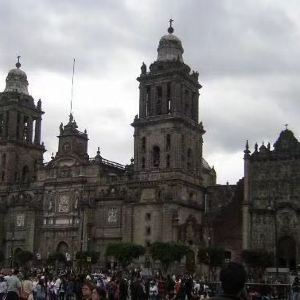 墨西哥城大教堂旅游景点攻略图