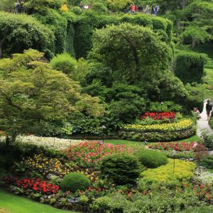 布查特花园旅游景点攻略图