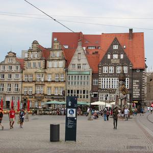 德国游记图文-德国浪漫之路上的城市不来梅的一日游
