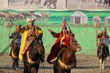大型实景历史剧《成吉思汗的黑纛》在陕西泾阳上演