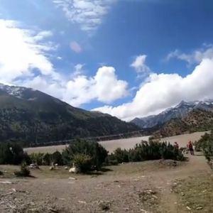 仁措湖旅游景点攻略图