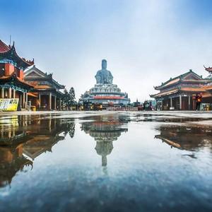 广东游记图文-新春祈福网红打卡胜地,来东莞观音山迎福行大运