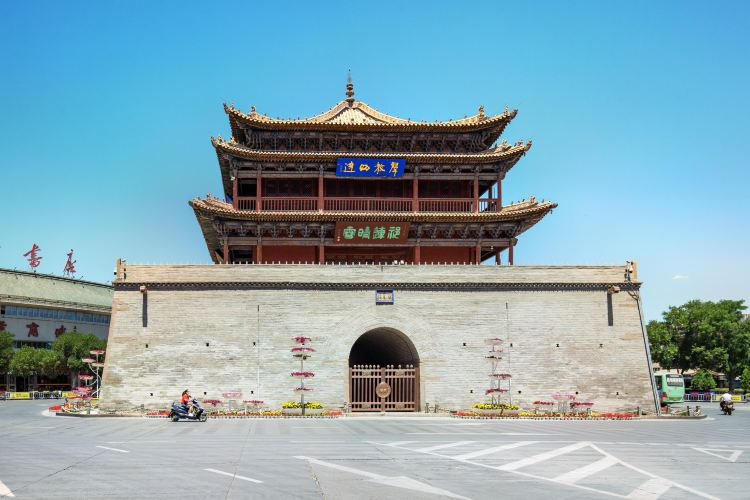 Zhangye Zhenyuan Tower