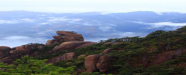 那一年,奇秀三清山、带你坠入一场世外桃源的梦;雾中醉美三清山、世界自然遗产地、世界地质公园【第九站】