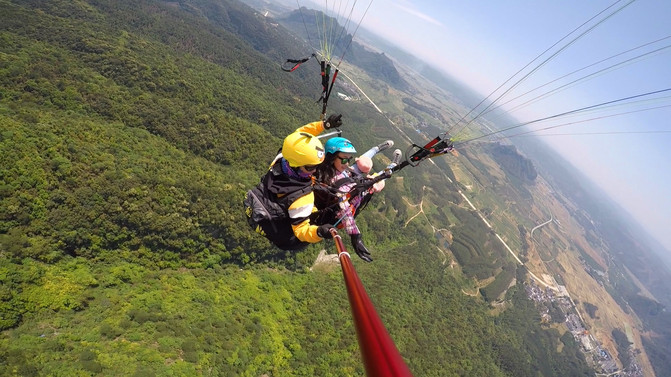 请慷慨地给自己一些放飞自我的时间∣滑翔伞 – 南宁游记攻略插图4