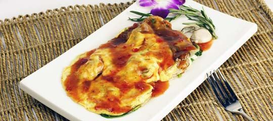Lai Ji Oyster Omelet With Eggs