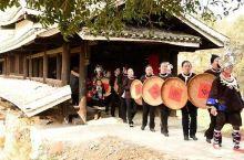 湖南怀化市通道坪日村一年一度架水节