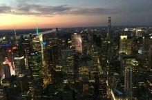 帝国大厦看曼哈顿夜景