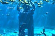 亚特兰蒂斯的水下世界,废墟、沉船、残骸,神秘的远古时代
