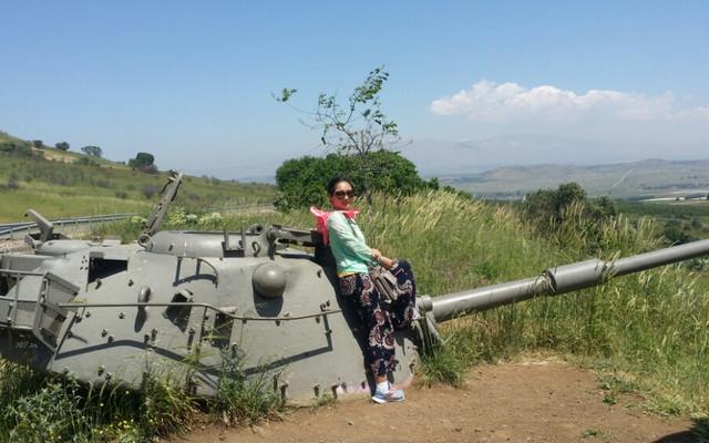 十五国联游之以色列第六天自驾提比利亚~戈兰高地~约旦河~提比利亚