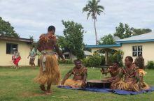 斐济总统村 喝卡瓦酒