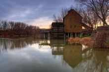 斯洛伐克小镇的老磨坊