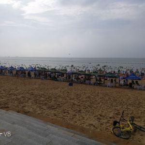 威海国际海水浴场旅游景点攻略图