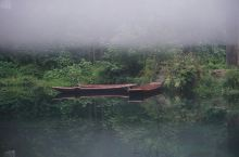 郴州小东江看晨雾