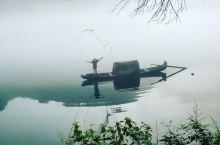 小东江观晨雾缦