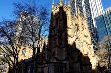圣·安德鲁教堂 St Andrew''s Cathedral ,英国圣公会,就在市政厅旁边,出地铁市