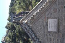 慕田峪长城·北京 慕田峪长城,号称最美野长城。 䓤翠的山中延绵的一条巨龙 失修的峰台