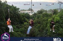 新加坡西乐索海滩高空滑锁