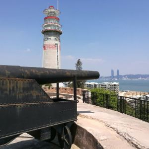 南炮台旅游景点攻略图