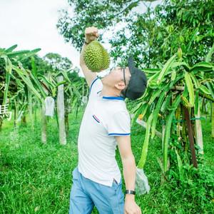 新山游记图文-自驾马来西亚 | 怀念在水果农场捡榴莲吃的时光。