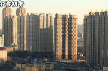 哈尔滨的初冬  没有雾霾天