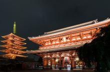 夜访浅草寺 这才是它最美的时候