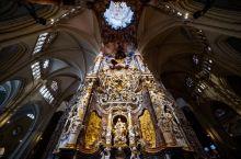 令人惊艳的托莱多大教堂#世界遗产#